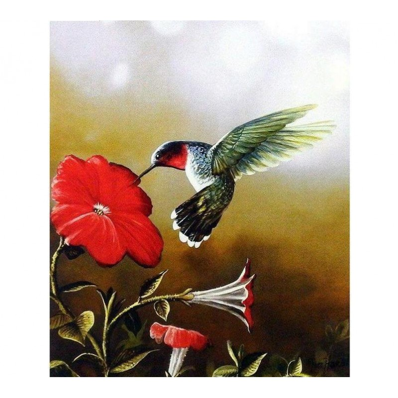 Birds and Flowers 5D...