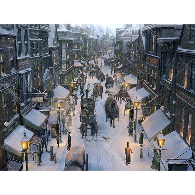 After the snow stree...