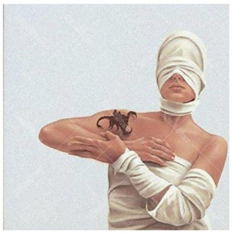 Girl With Mask and Scorpion 5D DIY Paint By Diamond Kit