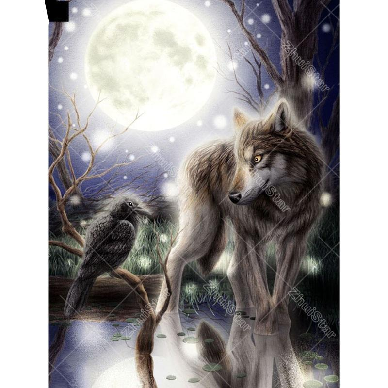 Mysterious Wolf and ...