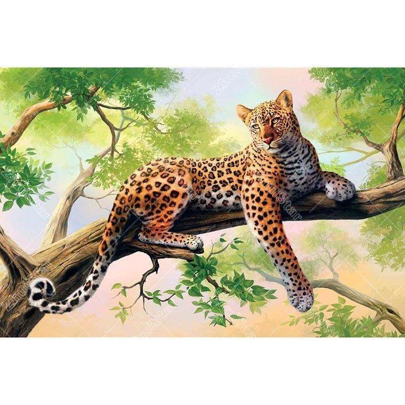 Leopard on the Tree ...
