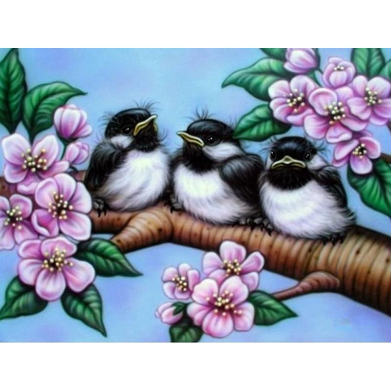 3 Birds 5D DIY Paint By D...