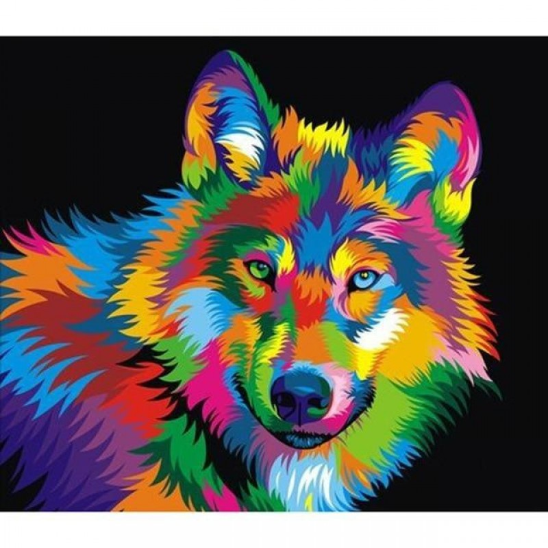 Colorful Coyote 5D D...