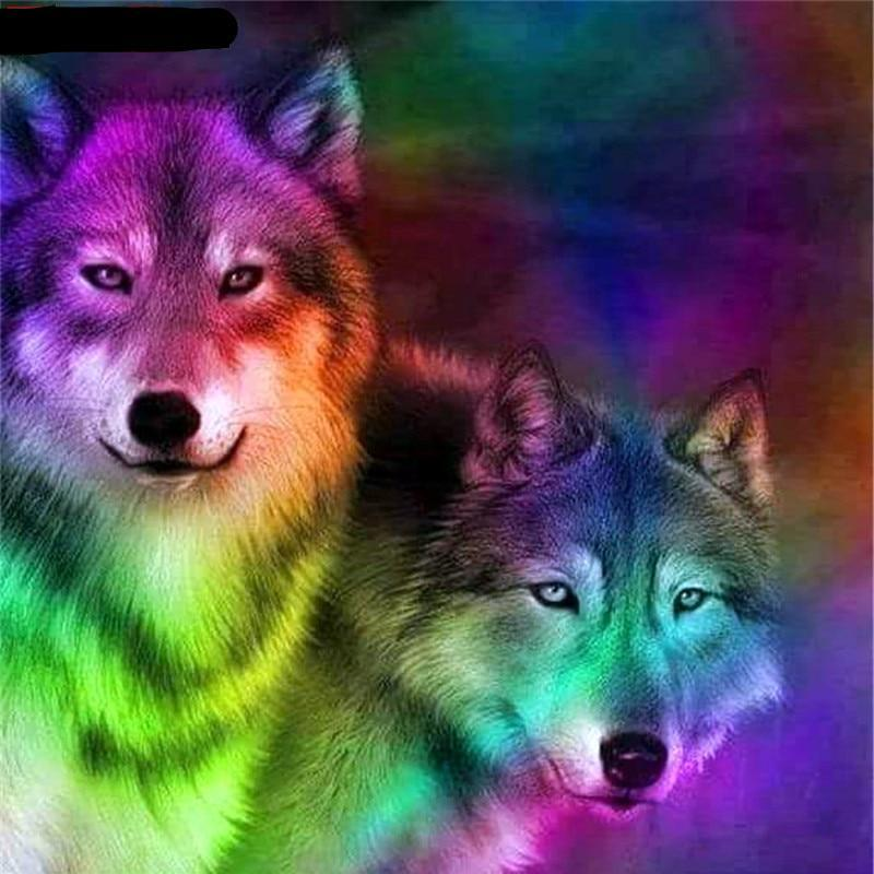 Painting Color Wolf ...