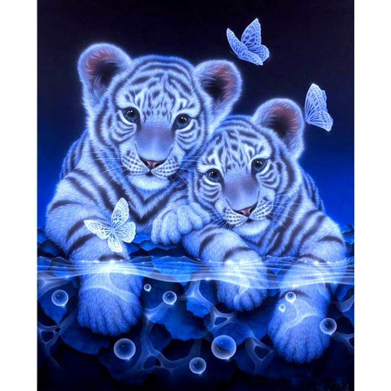 Tigers & Butterfly 5...