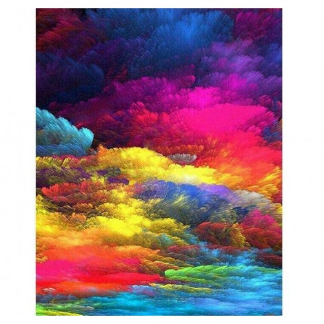 Colorful Clouds 5D DIY Diamond Painting