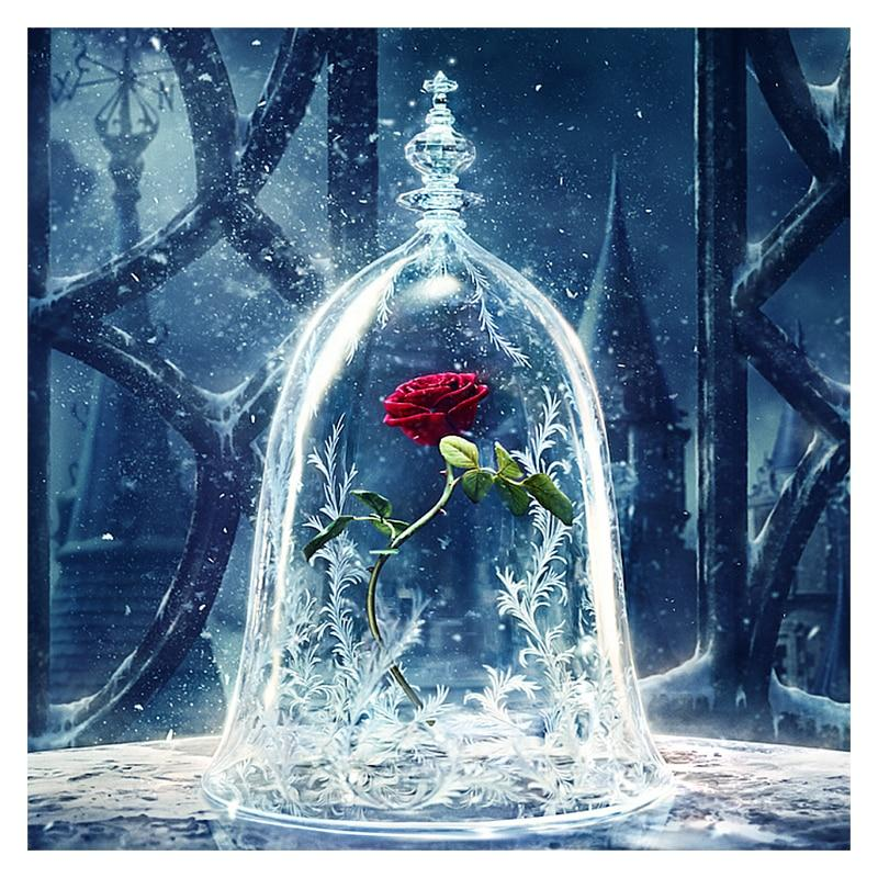 The Frozen Red Rose ...