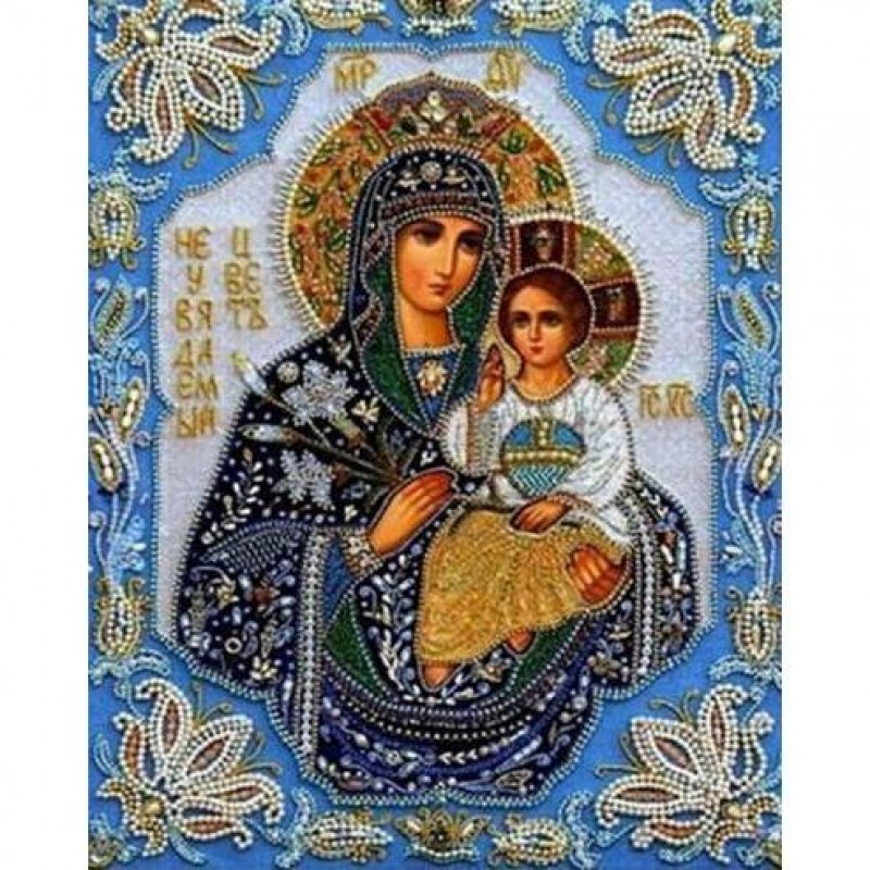 Mother Mary With Bab...