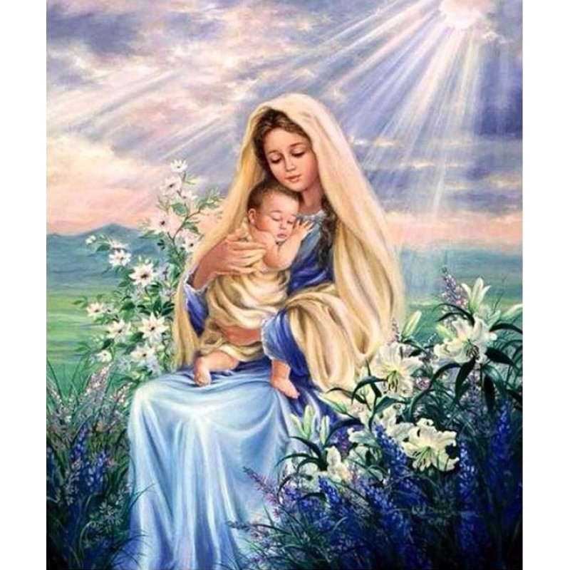 Mother Mary & Baby J...
