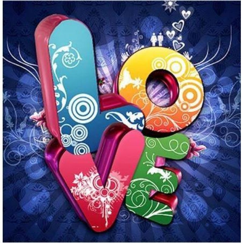 Abstract Love Sign 5...