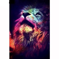 Rainbow Lion 5D DIY Paint...